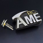 Custom AME BC pick pin and buckle